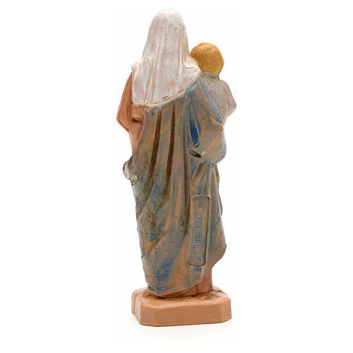 Statue Notre Dame à l'enfant 7 cm Fontanini 2