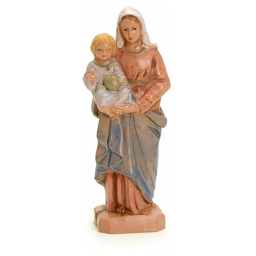 Madonna con bambino 7 cm Fontanini 3