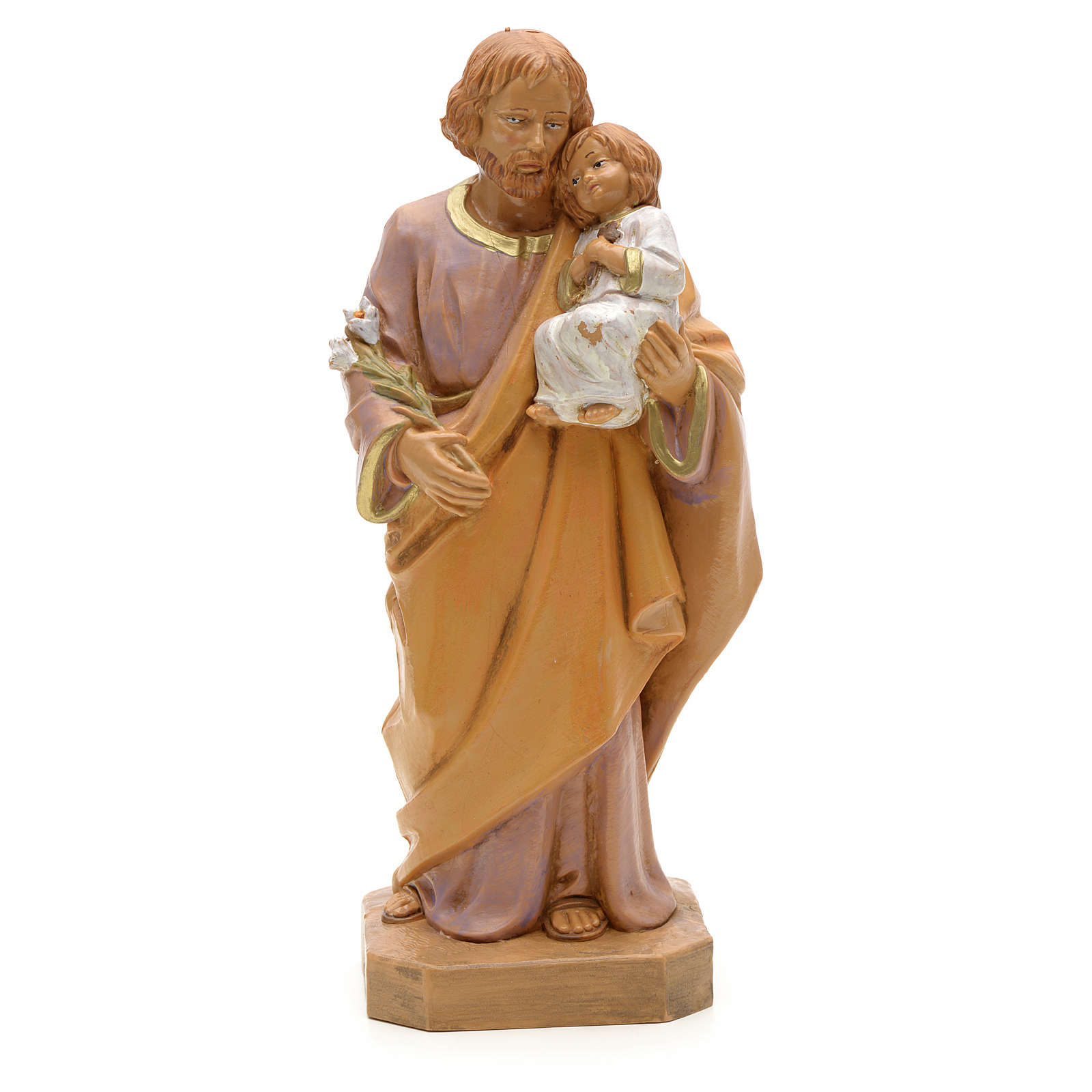 Josef mit Kind 18cm, Fontanini 4