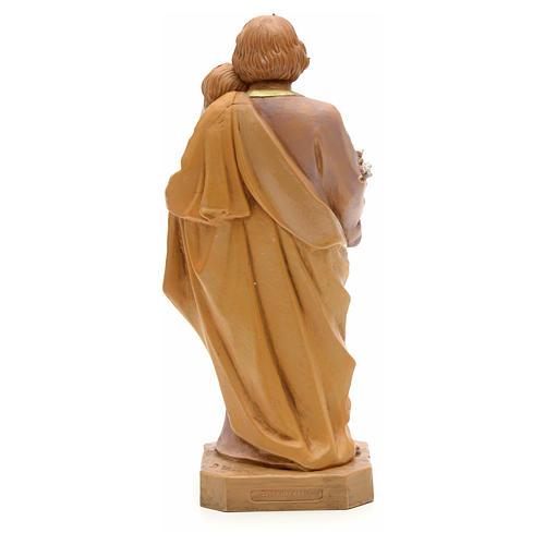 Statue St Joseph à l'enfant 18 cm Fontanini 2