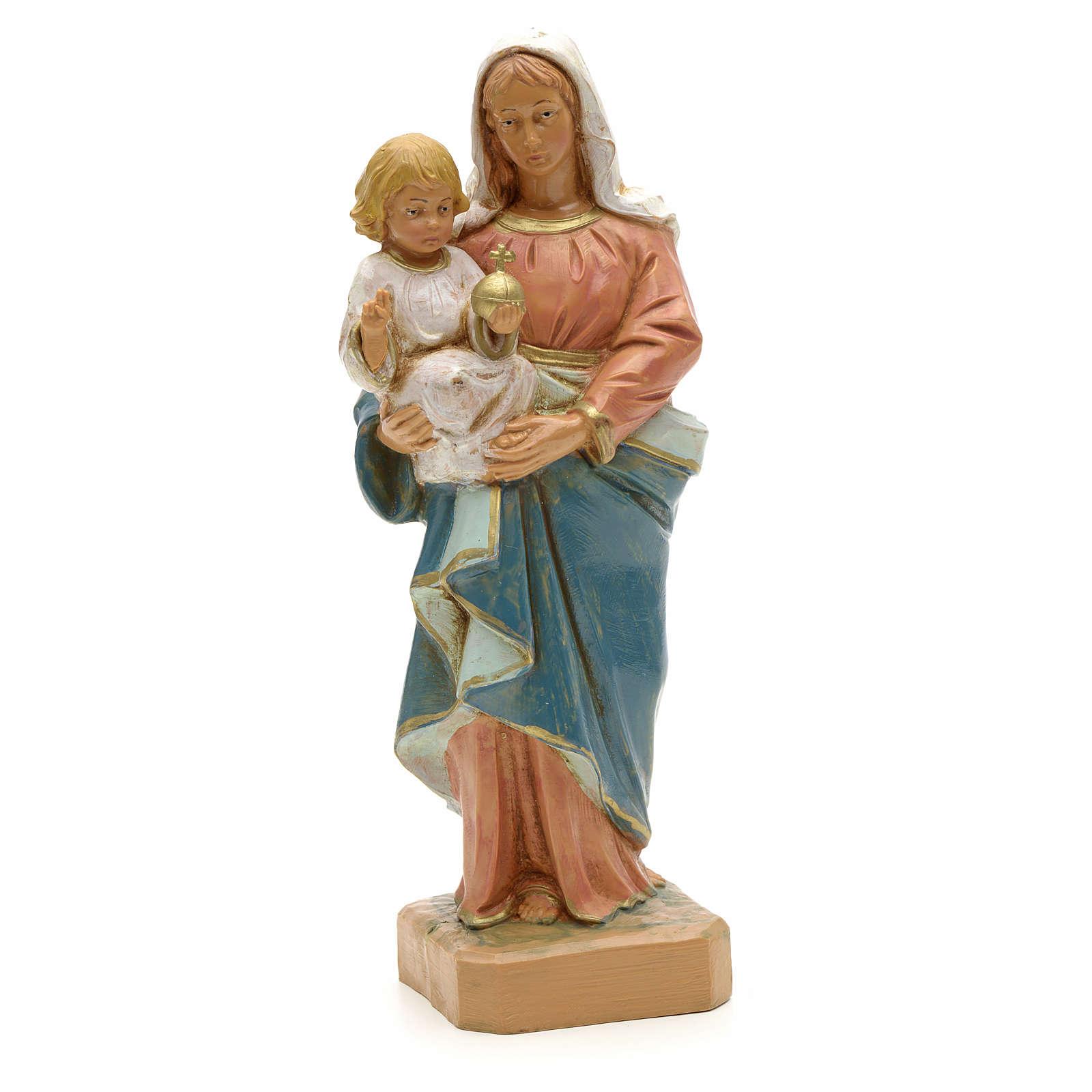 Madonna con Bambino 18 cm Fontanini 4