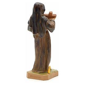 Santa Rita con crocifisso 18 cm Fontanini s2