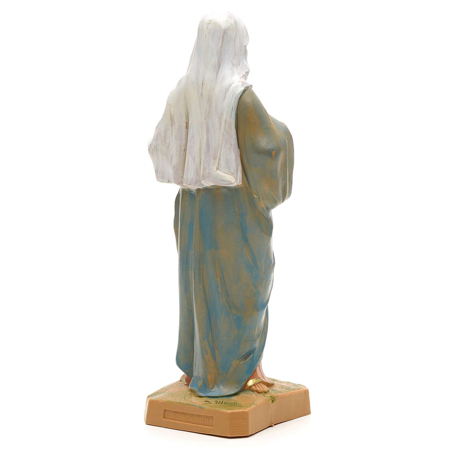 Statue Sacré Coeur de Maria 18 cm Fontanini 4