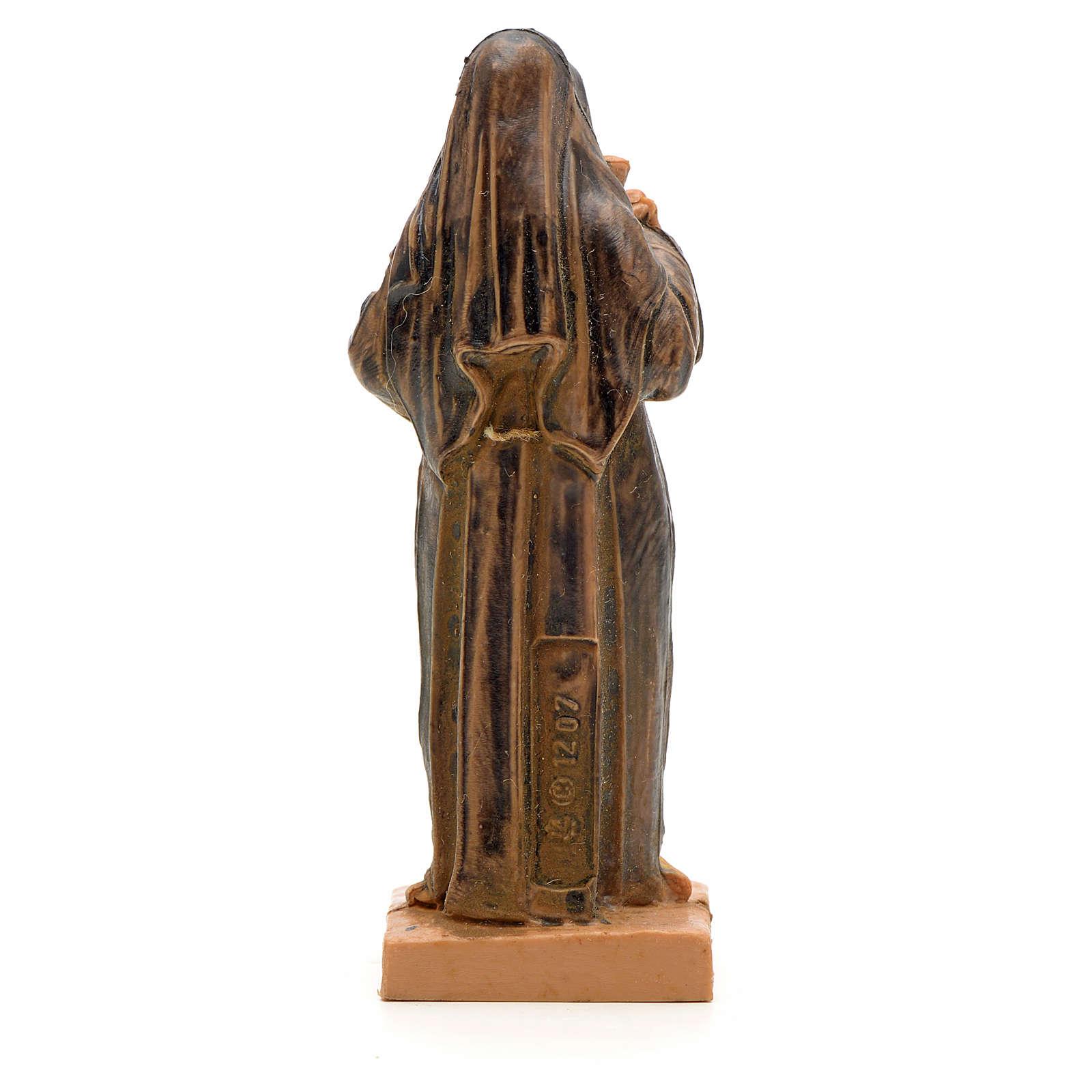 Santa Rita con crocifisso 7 cm Fontanini 4