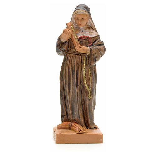 Santa Rita con crocifisso 7 cm Fontanini 1