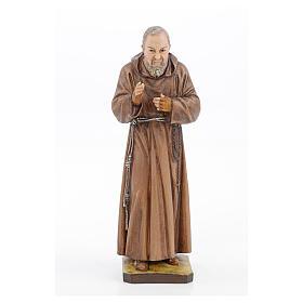 Statue Saint Pio résine 30 cm Landi s1