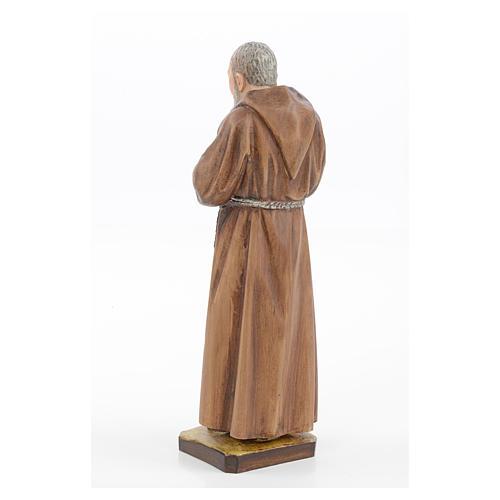 Statue Saint Pio résine 30 cm Landi 3