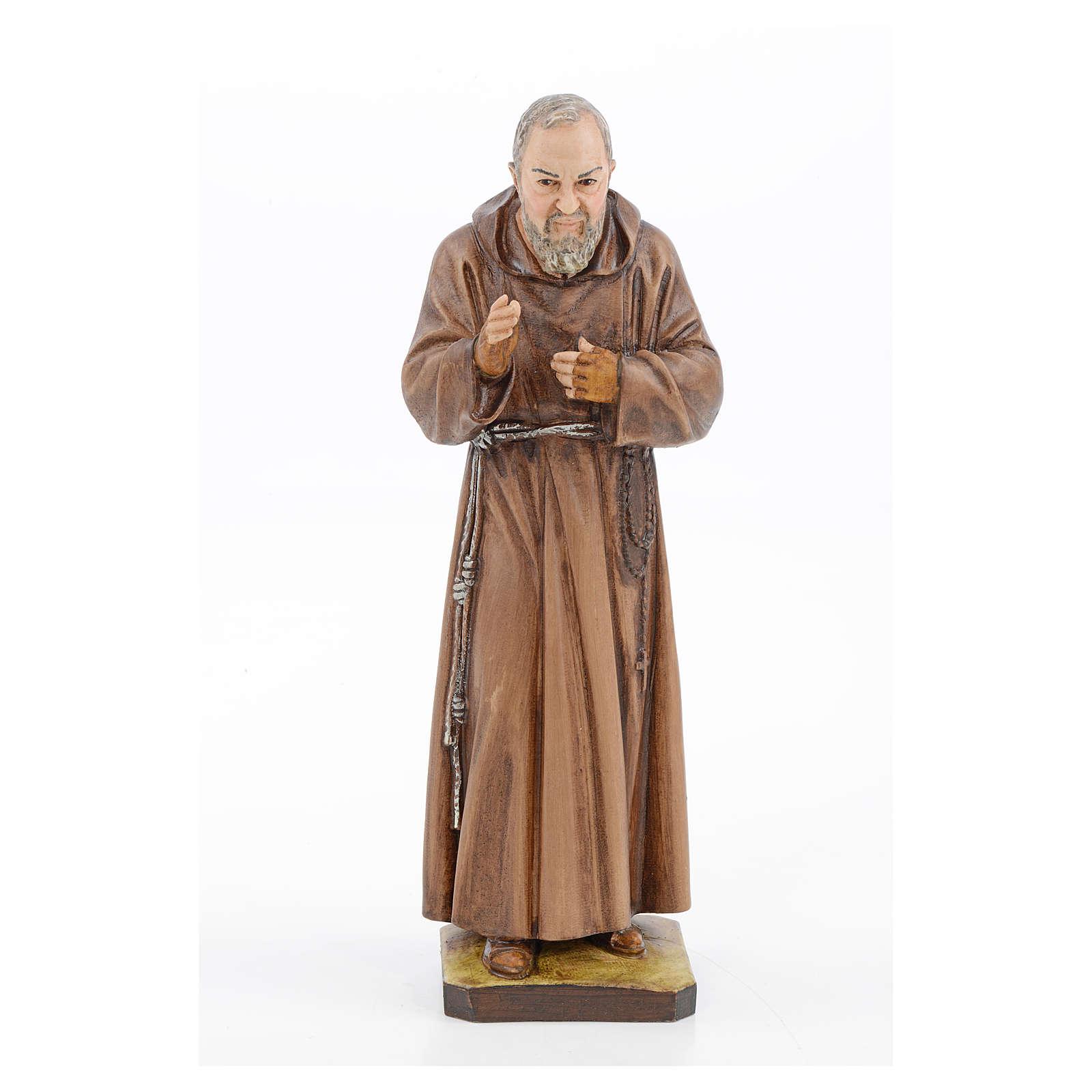 São Pio em resina 30 cm Landi 4