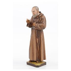 São Pio em resina 30 cm Landi s2