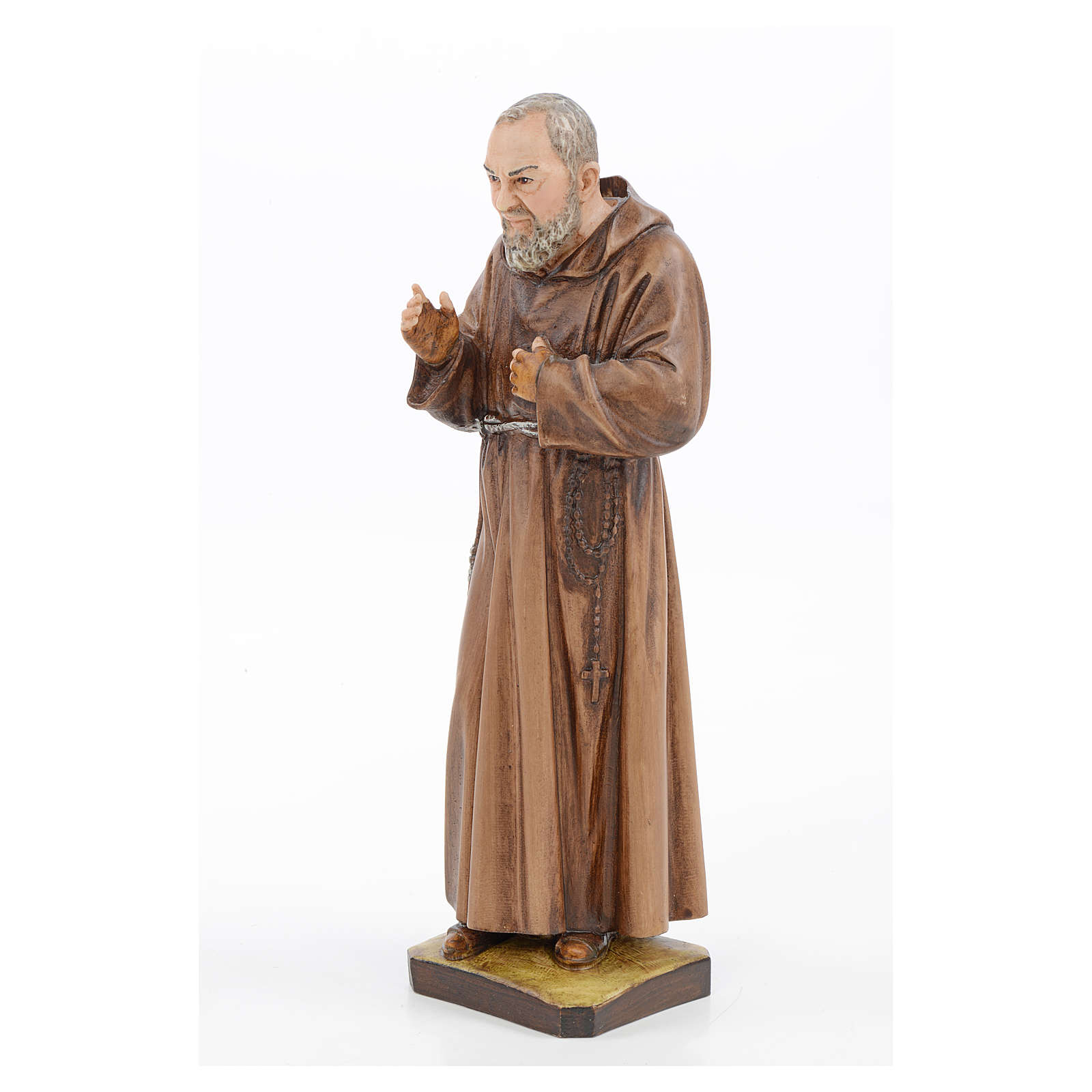 Padre Pio in resin, Landi 30cm 4