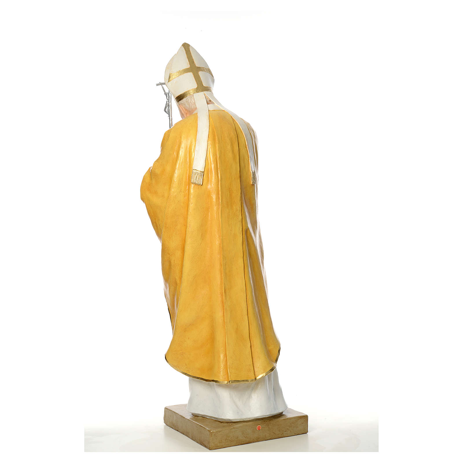 Statue Jean-Paul II fibre de verre 165cm Landi 4