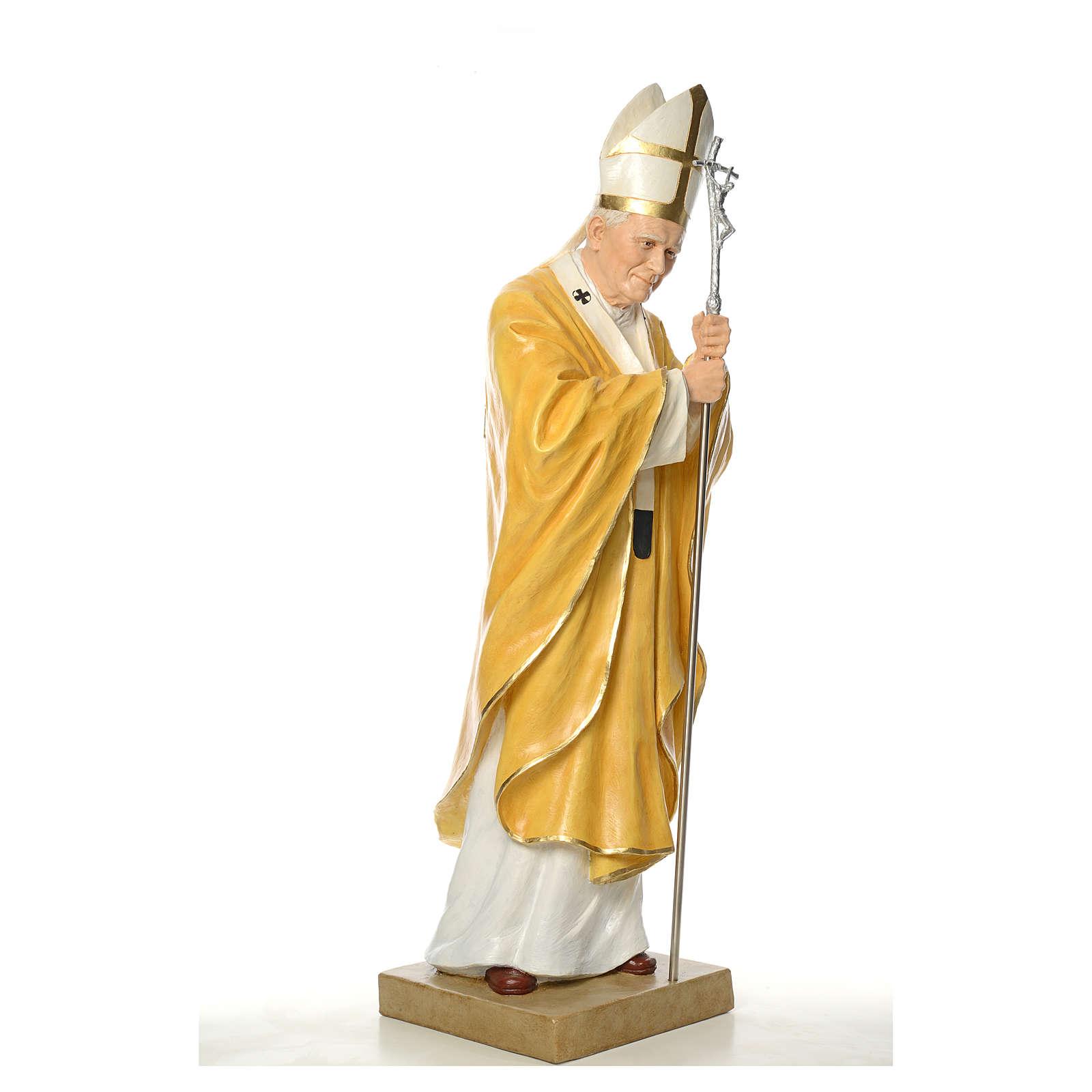 Statua Giovanni Paolo II Landi cm 165 vetroresina 4