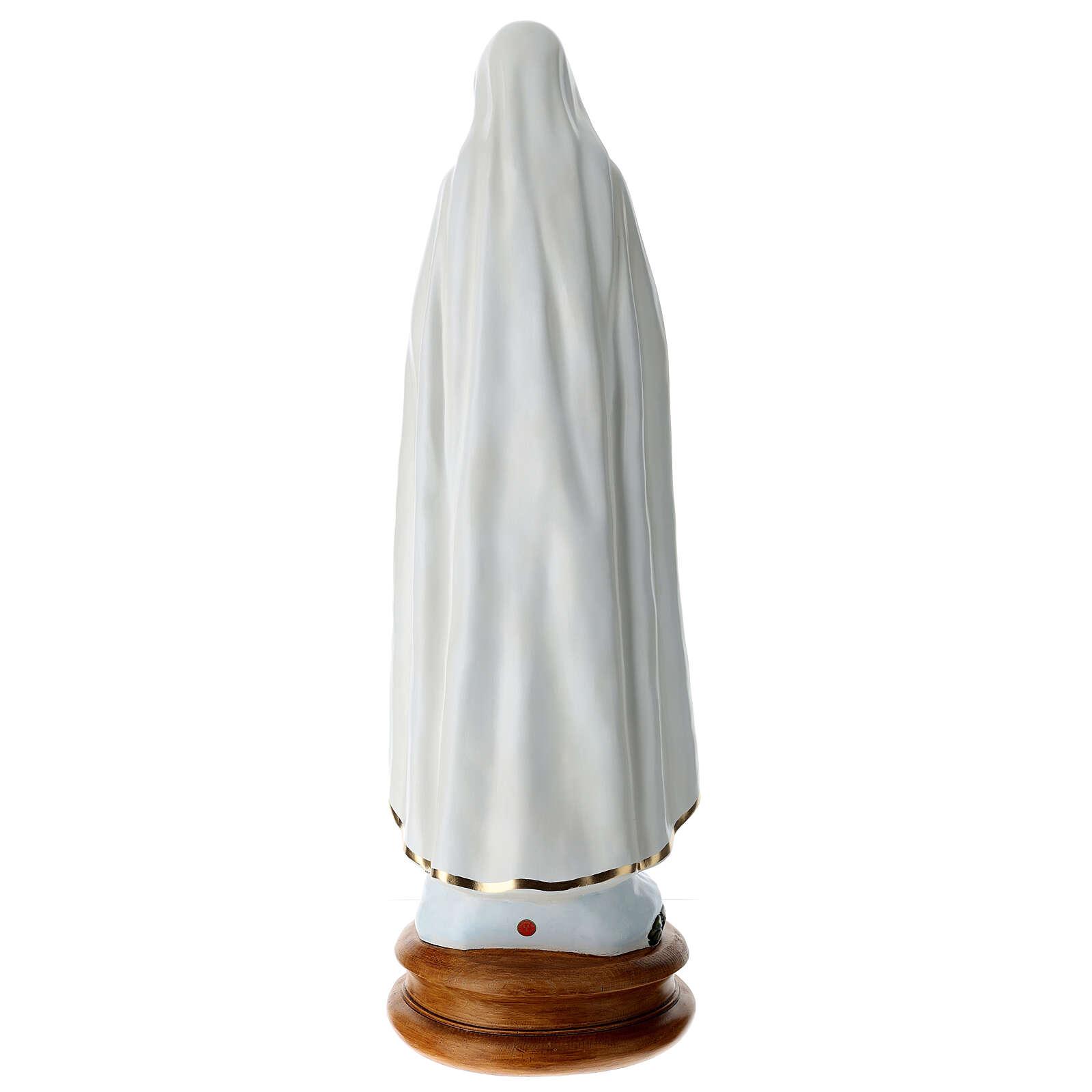 Virgen de Fátima 110 cm Landi PARA EXTERIOR 4