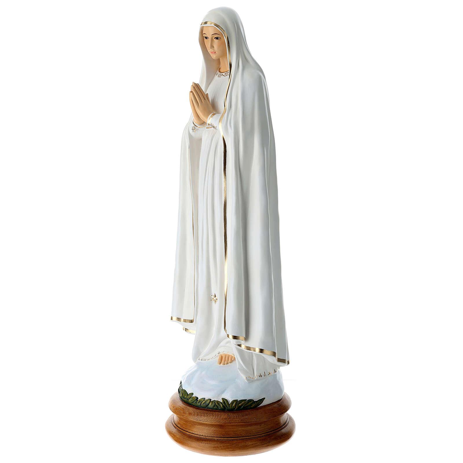 Madonna di Fatima 110 cm Landi PER ESTERNO 4
