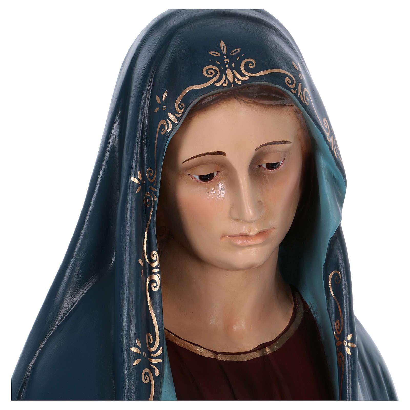 Virgen de los Dolores 170cm Landi fibra de vidrio 4