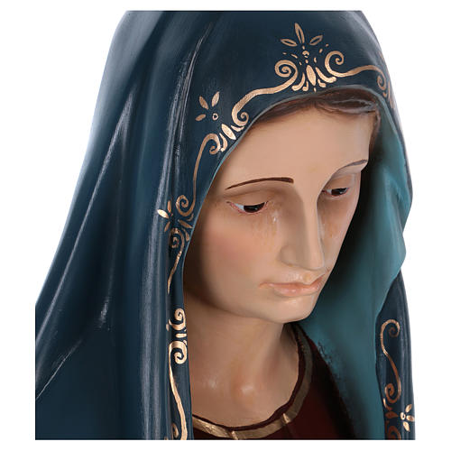 Virgen de los Dolores 170cm Landi fibra de vidrio 2