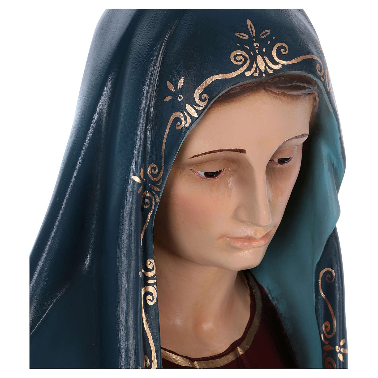 Madonna Addolorata 170 cm Landi vetroresina 4