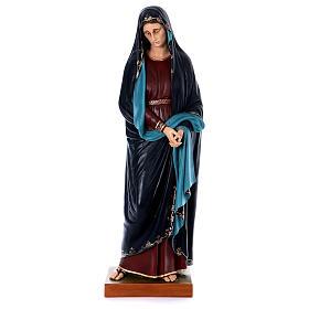 Madonna Addolorata e Gesù vetroresina Landi s3