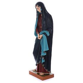 Madonna Addolorata e Gesù vetroresina Landi s9