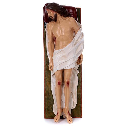 Madonna Addolorata e Gesù vetroresina Landi 2