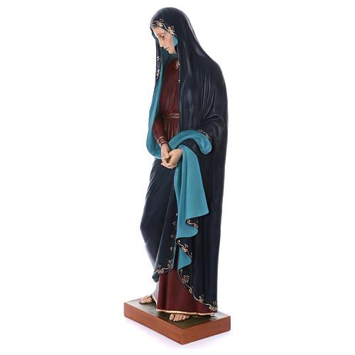 Madonna Addolorata e Gesù vetroresina Landi 9