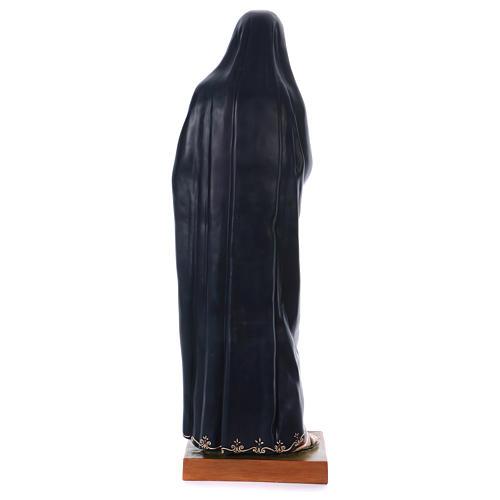 Madonna Addolorata e Gesù vetroresina Landi 13