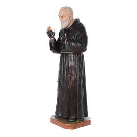 Statue Saint Pio de Pietrelcina fibre de verre 175cm Landi POUR EXTÉRIEUR s2