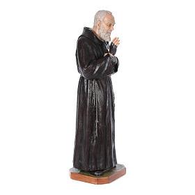 Statue Saint Pio de Pietrelcina fibre de verre 175cm Landi POUR EXTÉRIEUR s3