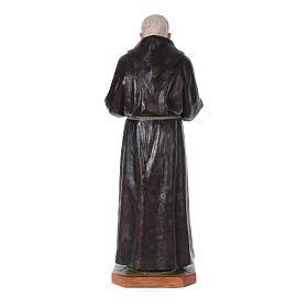 Statue Saint Pio de Pietrelcina fibre de verre 175cm Landi POUR EXTÉRIEUR s4
