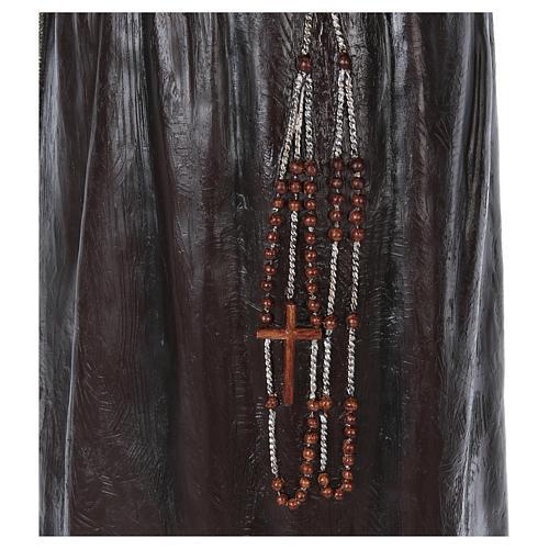 Statue Saint Pio de Pietrelcina fibre de verre 175cm Landi POUR EXTÉRIEUR 7