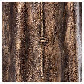 Święty Pio włókno szklane Landi 175 cm brąz s9
