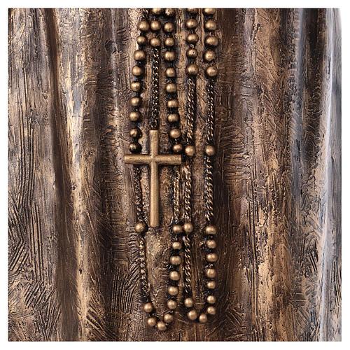 Święty Pio włókno szklane Landi 175 cm brąz 8