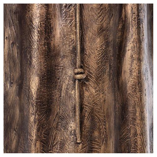 Święty Pio włókno szklane Landi 175 cm brąz 9