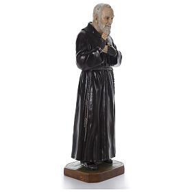 Padre Pio of Pietralcina statue in fiberglass, 125 cm by Landi s4