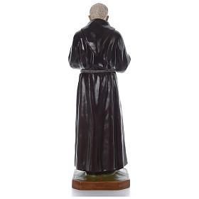 Padre Pio of Pietralcina statue in fiberglass, 125 cm by Landi s5
