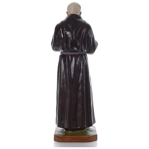 Padre Pio of Pietralcina statue in fiberglass, 125 cm by Landi 5