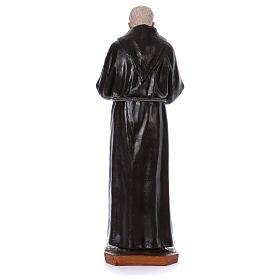 Padre Pio of Pietralcina statue in fiberglass, 100 cm by Landi s5