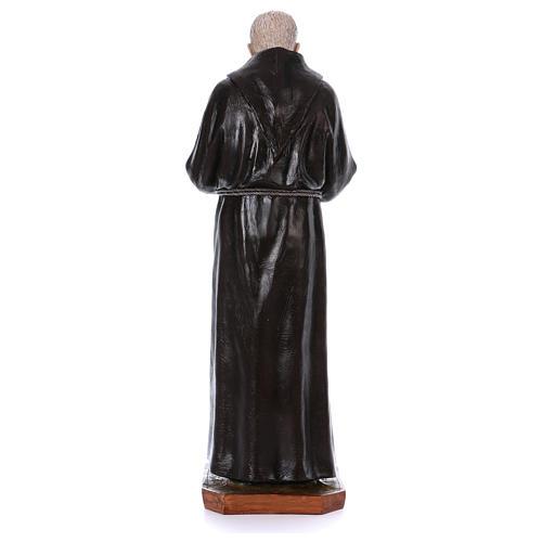 Padre Pio of Pietralcina statue in fiberglass, 100 cm by Landi 5