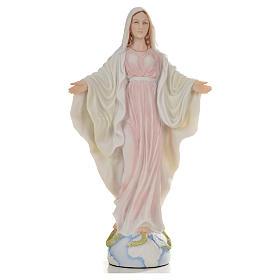 Nuestra Señora de la Medalla Milagrosa 26cm de resina s1