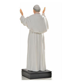 John Paul II statue in resin, 27cm s3
