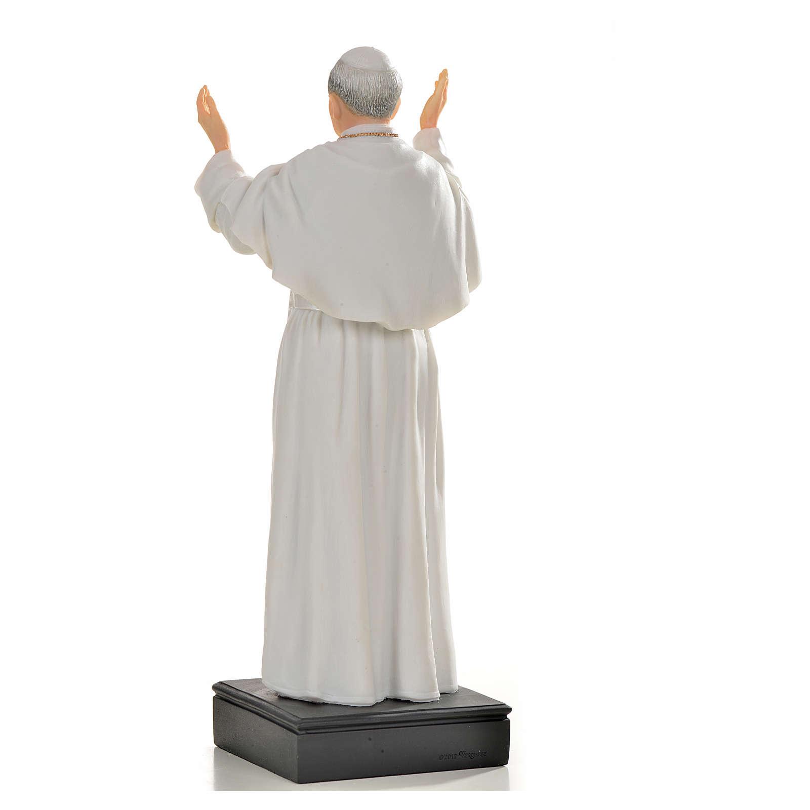 Giovanni Paolo II resina 27 cm 4