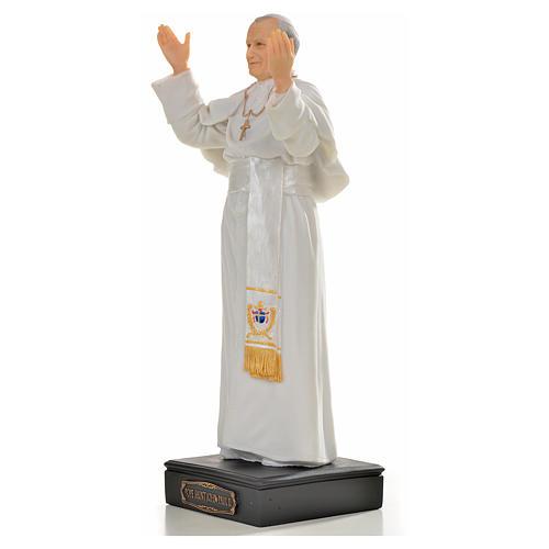 Giovanni Paolo II resina 27 cm 2