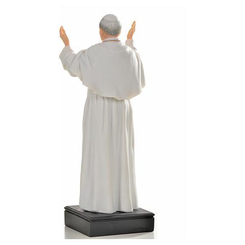 Giovanni Paolo II resina 27 cm 3