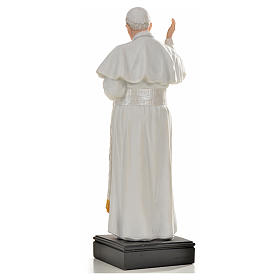 Pope Francis statue in resin, 27cm s3