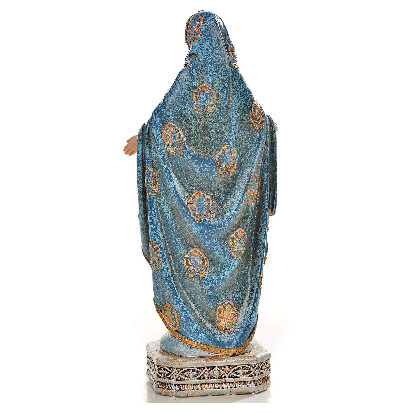 Nuestra Señora de la Medalla Milagrosa 20cm de resina 4