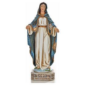 Nuestra Señora de la Medalla Milagrosa 20cm de resina s1