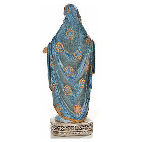 Nuestra Señora de la Medalla Milagrosa 20cm de resina s3