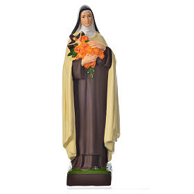 Resin & PVC statues: Saint Therese statue 30cm, unbreakable material