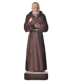 Statue Padre Pio 30 cm pvc incassable s1
