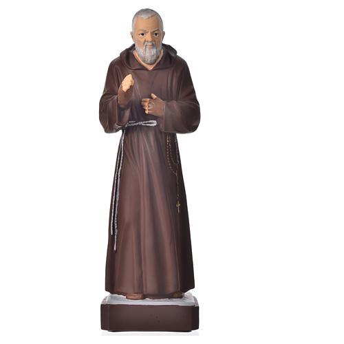 Statue Padre Pio 30 cm pvc incassable 1